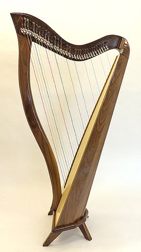 Harp Makers -Stanley and Stanley of Kingston - Celtic, Folk